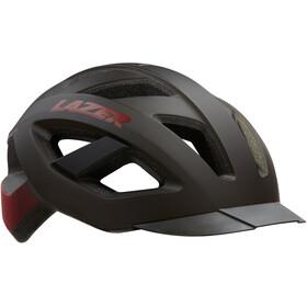 Lazer Cameleon Helm mit Insektenschutznetz schwarz/rot
